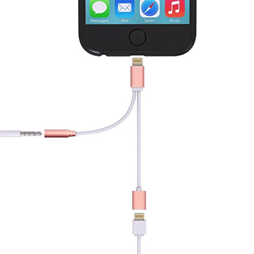 Cell Connectors Lightning Adapter Earphone