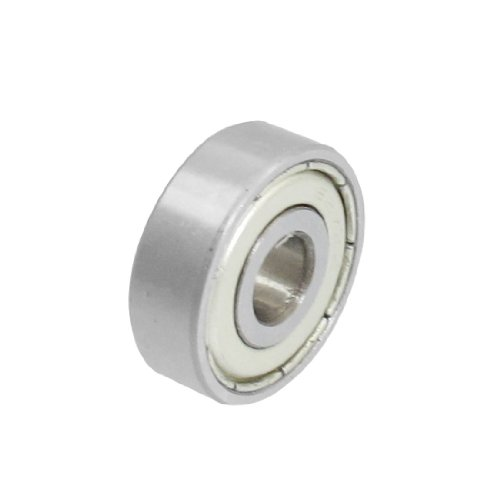 7mm x 22mm x 7mm 627 Miniature Deep Groove Roller Blade Radial Ball Bearing