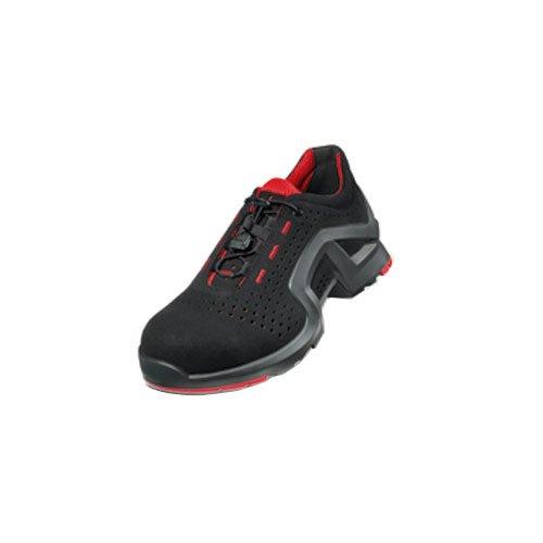 8 8512 rouge Uvex s1 Noir sRC sicherheitshalbschuh largeur 1 11 1gqq5Ew