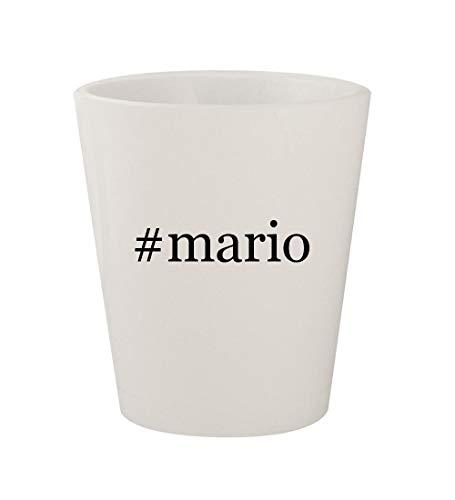 Price comparison product image #mario - Ceramic White Hashtag 1.5oz Shot Glass