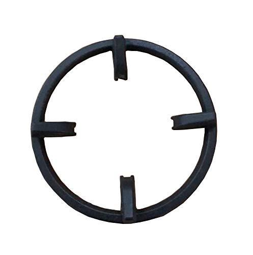 (Replace parts Cast Iron Wok Ring For GE Appliances JGB860SEJSS, Kenmore, Bosch gas ranges,Select Samsung NX58H5650WS, And others)