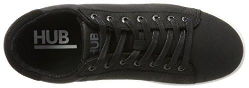 Sneaker Black Mark Herren Hub White Schwarz Low Black Cqnpt