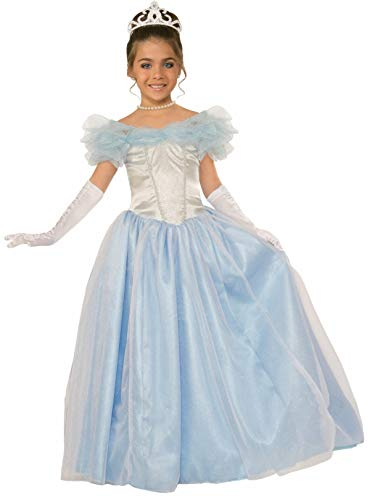Forum Novelties Kids Happily Ever After Princess Costume, Blue, Large