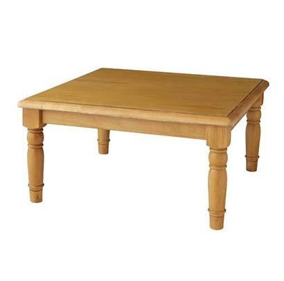 こたつでもカントリー調 天然木 パイン材 こたつ テーブル 正方形 80×80 アンティーク調 アンティーク調 B07H9ST23T