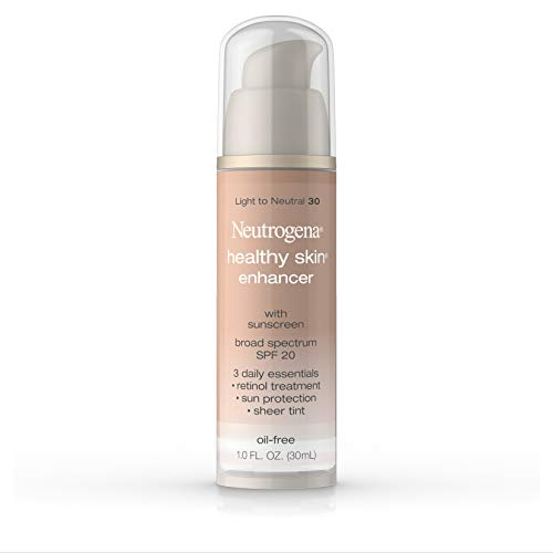 - Neutrogena Healthy Skin Enhancer, Broad Spectrum Spf 20, Light To Neutral 30, 1 Oz.