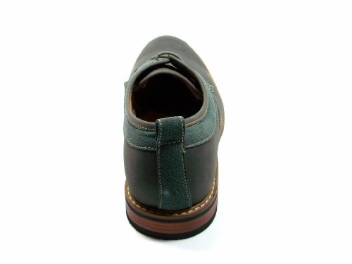 Ferro Aldo Heren 19257-grijze Casual Ronde Neus Oxfords