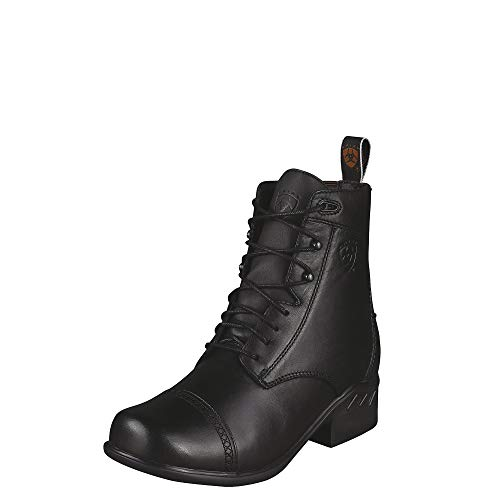 ARIAT Women's Heritage Paddock Lace-Up Riding Boot Round Toe Black 11 M US ()