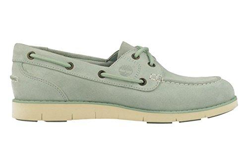 LAKEVILLE GREEN turquoise TIMBERLAND bateau A1GDF Femme Bleu pour SILT Chaussures qZZxnP1