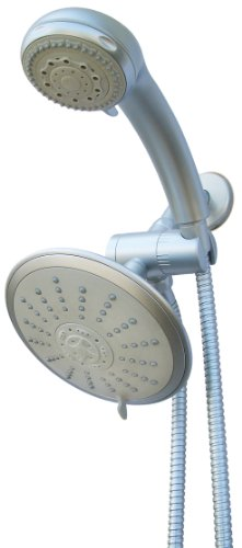 (Waterfall by ConservCo WS-M5C-C Multnomah Showerhead Combo-Pack, Chrome )