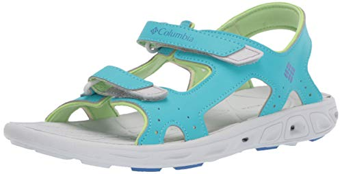 Columbia Unisex Youth TECHSUN Vent Sandal Geyser, Vivid Blue 3 Regular US Little Kid