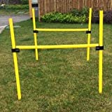 Pet Life. Jumping Hurdle Collapsible Agility Dog Trainer Kit