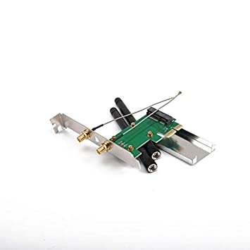 Goldyqin 802.11n Mini WiFi inalámbrico PCI-E a Mini PCI PCI ...