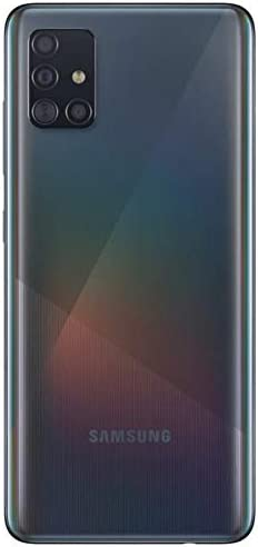 Samsung Galaxy A51 Factory Unlocked Cell Phone | 128GB of Storage | Long Lasting Battery | Single SIM | GSM or CDMA Compatible | US Version | Black (Renewed) WeeklyReviewer