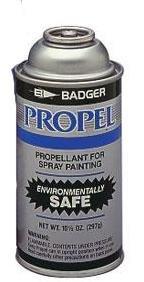 Propellant Badger Airbrush - BADGER AIR BRUSH PROPEL CAN SMALL