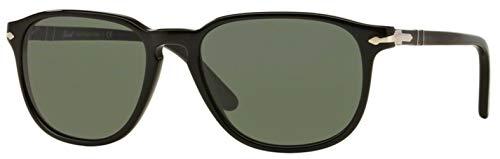 Persol PO 3019s 52 MM Black Frame/crystal green Lens ()