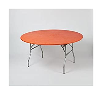 Amazing Amazon Com Kwik Covers 60 Inch Round Orange Fitted Table Ibusinesslaw Wood Chair Design Ideas Ibusinesslaworg