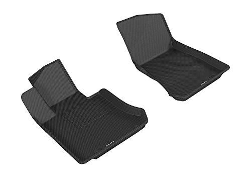 3D MAXpider – L1MB07911509 Front Row Custom Fit All-Weather Floor Mat for Select Mercedes-Benz GLC-Class (X205) Models…