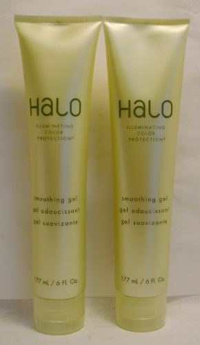 Halo Illuminating Color Protection Smoothing Gel 6oz By Graham Webb (2 Pack) (Halo Smoothing Gel)