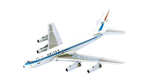 Dragon Models United Airlines UA 720-022 Diecast Aircraft, Scale 1:400 (Airlines Dragon United)