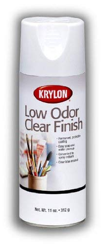 Low Odor Clear Gloss Finish Can Be Used Indoors (Pkg/4)