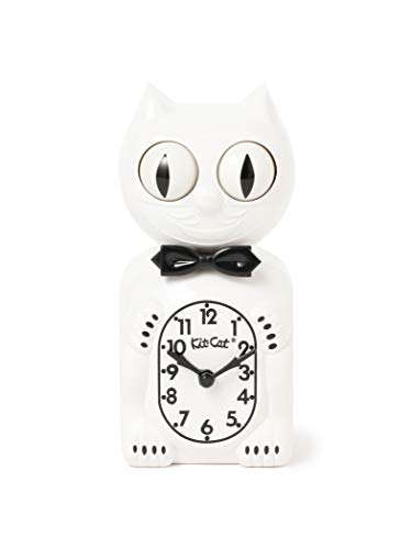 (B PR 빔스)bpr BEAMS/탁상시계 California Clock/Kit-Cat Klock WHITE ONE SIZE
