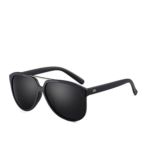Aviador plástico Dark Gafas para Gafas de G15 Smoke de Viaje y C1 TL Sol de Guía Sol Sunglasses polarizadas de Gafas C4 Hombres Diseñador de Negro Blue Mate ZWwTTty4Cq