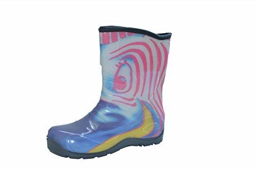 Pally Girls/Boys Zebra Rain Boot, Zebra,8 M US Toddler