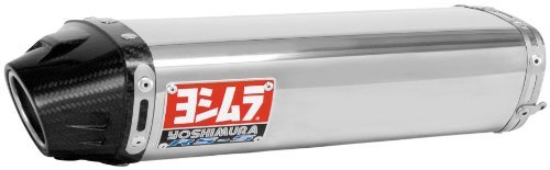 07-08 KAWASAKI ZX6R: Yoshimura RS-5 Slip-On Exhaust (CARBON FIBER)