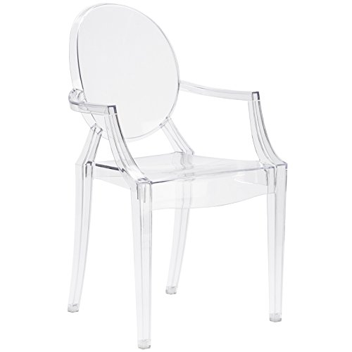 Poly and Bark Burton Arm Chair in Clear Review