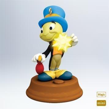 1 X 2011 Hallmark JIMINY CRICKET Miniature Magic Ornament from Walt Disneys Pinocchio - QXM9147 by Hallmark