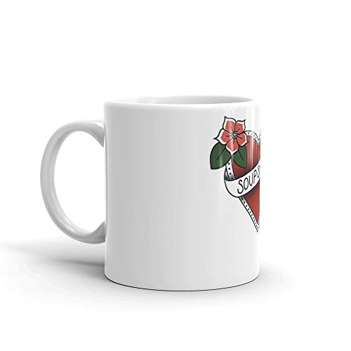 (Soup Snakes. 11 Oz Mugs Made Of Durable Ceramic With An Easy Grip Handle.This Coffee Mug Has A Hefty But Classic Feel)