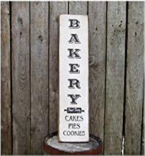 Amazon.com: meijiafei Patisserie French Country puerta placa ...