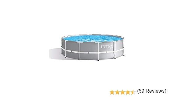 Intex 28917 - Marco de metal para piscina (366 x 91 cm): Amazon.es ...