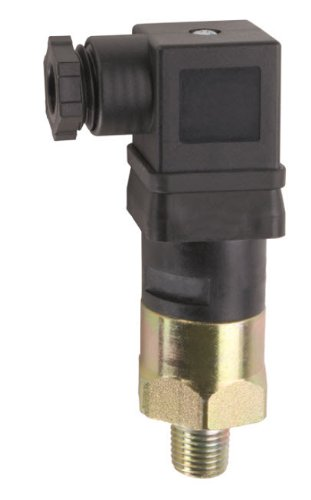 Gems Sensors 209377 General Purpose Mini Pressure Switch with Zinc-Plated Steel Fitting, 125/250V, 1000-3000 psi Pressure, 1/4'' NPT Male, SPDT Circuit by Gems Sensors