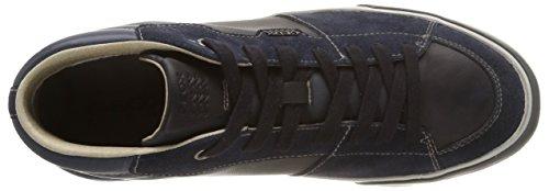 Geox U Smart A - Zapatillas de gimnasia Hombre Navy