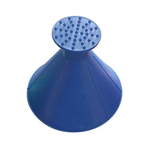 Milk Snow Glass - Scrape A Round Magic Cone-Shaped Windshield Ice Scraper Snow Shovel Tool BU