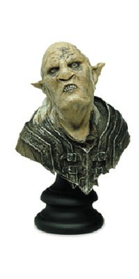 The Lord of the Rings Orc Overseer Bust By Sideshow