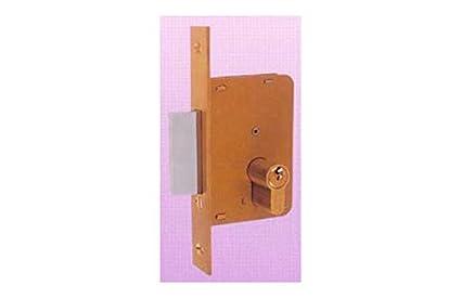 Ezcurra M29378 - Cerradura embutir hierro latonado 4200-45