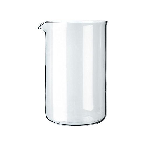 Bodum - Spare Glass Liner With Spout - Replacement Part Suitable for French Press Cafetiere - 12 Cups