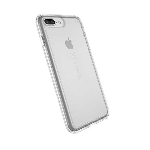 Speck Products Gemshell Cell Phone Case for iPhone 8 Plus (Also fits 7 Plus and 6S/6 Plus) - Clear/Clear