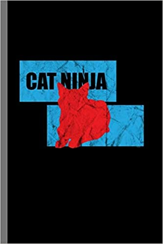 Cat ninja: For Cats Animal Lovers Cute Animal Composition ...