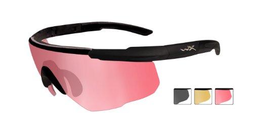 Noir Lunettes avec Saber kit XL Advanced écrans X Taille 3 M en mat 309 de protection Wiley xqIRzwn7