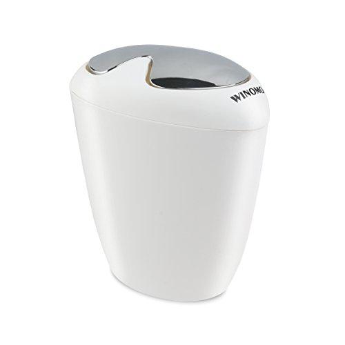 kitchen trash can with lid design bathroom bin easy removable countertop office ebay. Black Bedroom Furniture Sets. Home Design Ideas