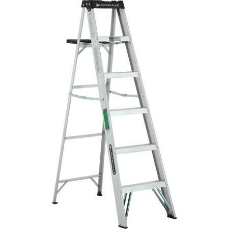 Louisville Square (Louisville Ladder 6' Aluminum Ladder by Louisville)