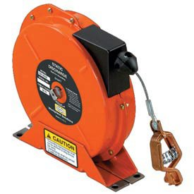 Hubbell SD-2050 50 Ft. 7x7 Stranded Steel Static Discharge Reel (Discharge Static Reels)