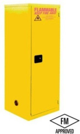 Jamco Products, Inc., Space Saver Safety Cabinets - With Self Closing Doors, Jssc-60, Capacity Gallons: 60, Size W X D X H: 23 X 34 X 65, Number Of Shelves Included: 3, Design: Self Close, Weight-Lbs: 360, Bj60