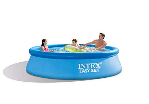 Intex 28122NP Piscina hinchable, con depuradora, 3853 litros