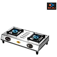 Bajaj Cx 8, Gas Stove, Ss 2 Burner- Big Body