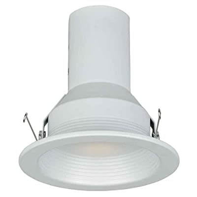 Commercial Electric 5 in. White Baffle Trim (T39)