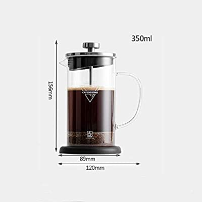 French Press Coffee Maker 350ml / 12oz, cafetera de acero ...